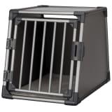TRIXIE Lutande hundtransportbur aluminium strl. M-L grafitgrå 39337