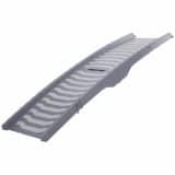 TRIXIE Loopplank huisdieren 3-voudig inklapbaar 39x150 cm grijs 394736