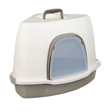 TRIXIE Kampinis kačių tualetas Alvaro, 55x42x42 cm, kremo sp. 40357[2/2]