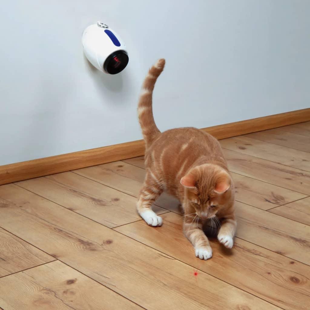 TRIXIE Automatische laserpen kattenspeelgoed 11 cm wit 41311