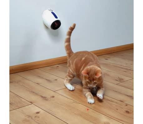 TRIXIE Žaislas katėms, automatinė lazerinė rodyklė, 11cm, balta[2/2]