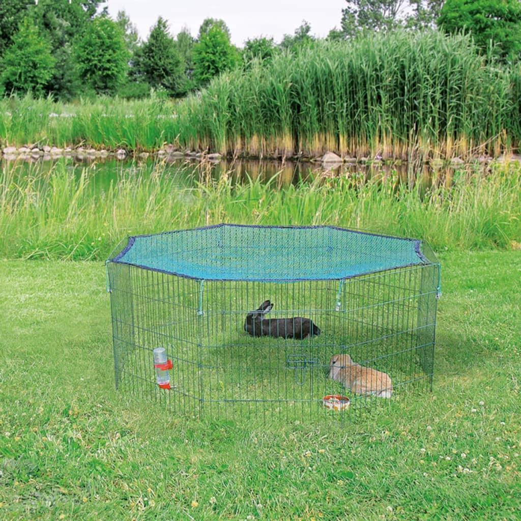 Afbeelding van TRIXIE Dierenren met beschermnet 60x57 cm groen 62411