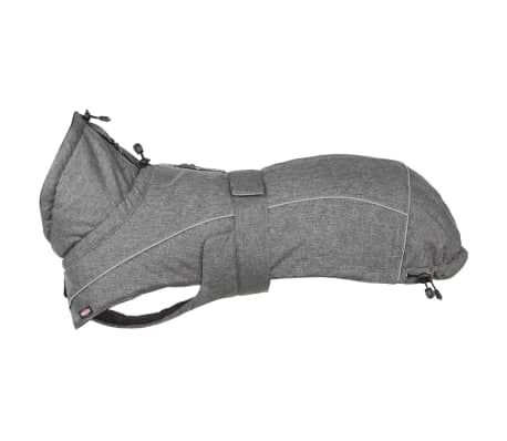 TRIXIE Abrigo para perros Prime gris M 45 cm