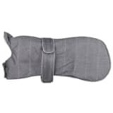 TRIXIE Zimowa kurtka dla psa Brest, rozmiar M, 50 cm, szara, 67815