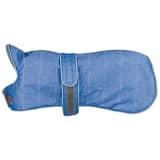 TRIXIE Kurtka dla psa Belfort, rozmiar XS, 25 cm, niebieska, 67860