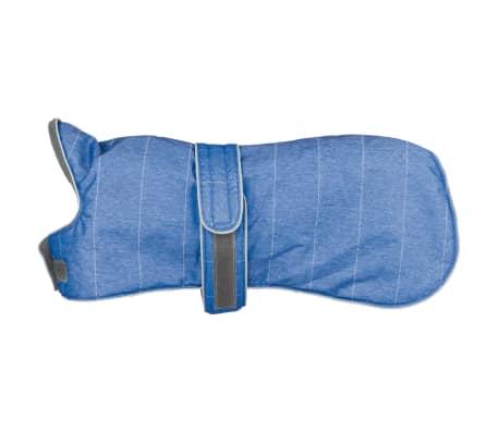 acheter trixie manteau d 39 hiver pour chiens belfort taille s 40 cm bleu pas cher. Black Bedroom Furniture Sets. Home Design Ideas