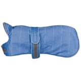TRIXIE Kurtka dla psa Belfort, rozmiar L, 62 cm, niebieska, 67867
