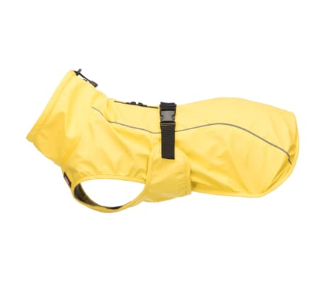 TRIXIE Impermeable para perros Vimy amarillo S 35 cm