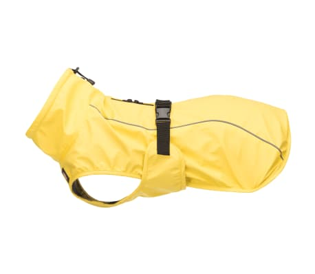 TRIXIE Impermeable para perros Vimy amarillo S 40 cm