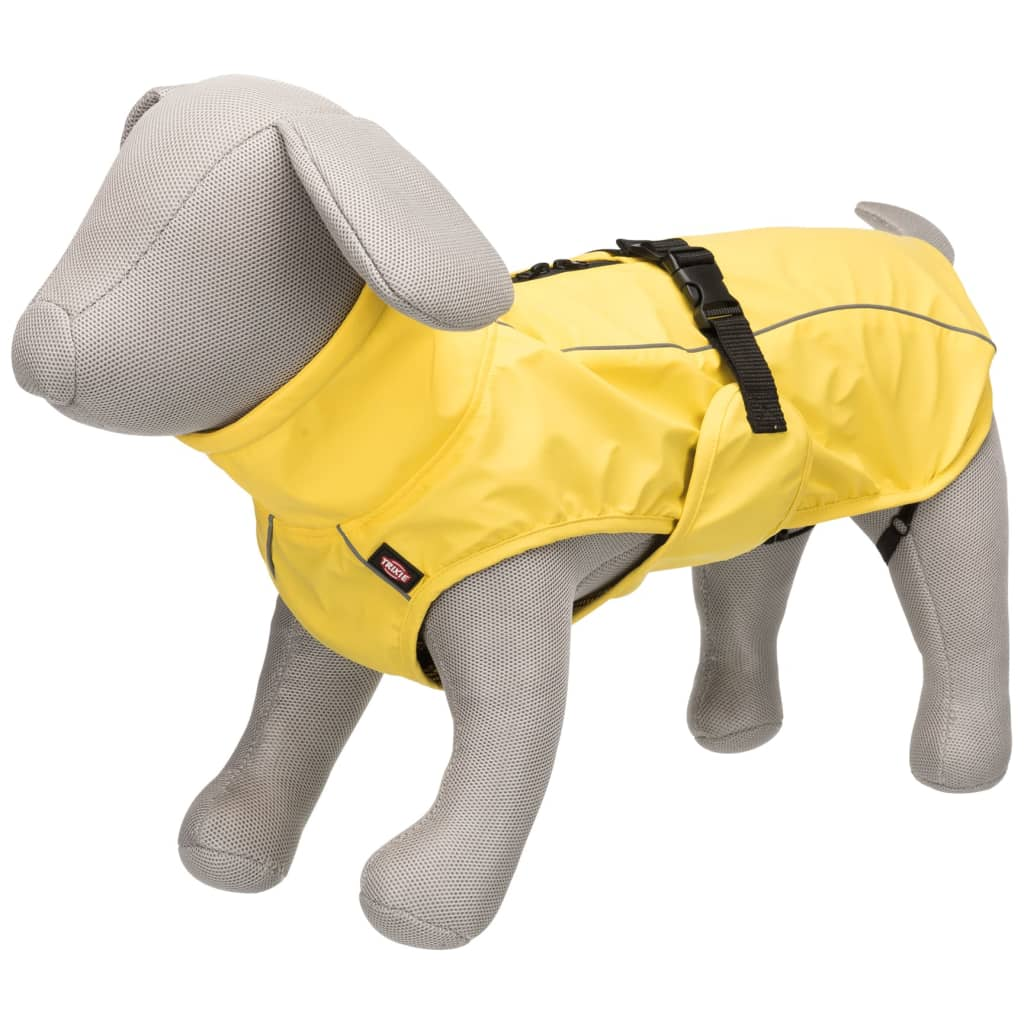 TRIXIE Impermeabil pentru câini Vimy, galben, 55 cm, L imagine vidaxl.ro