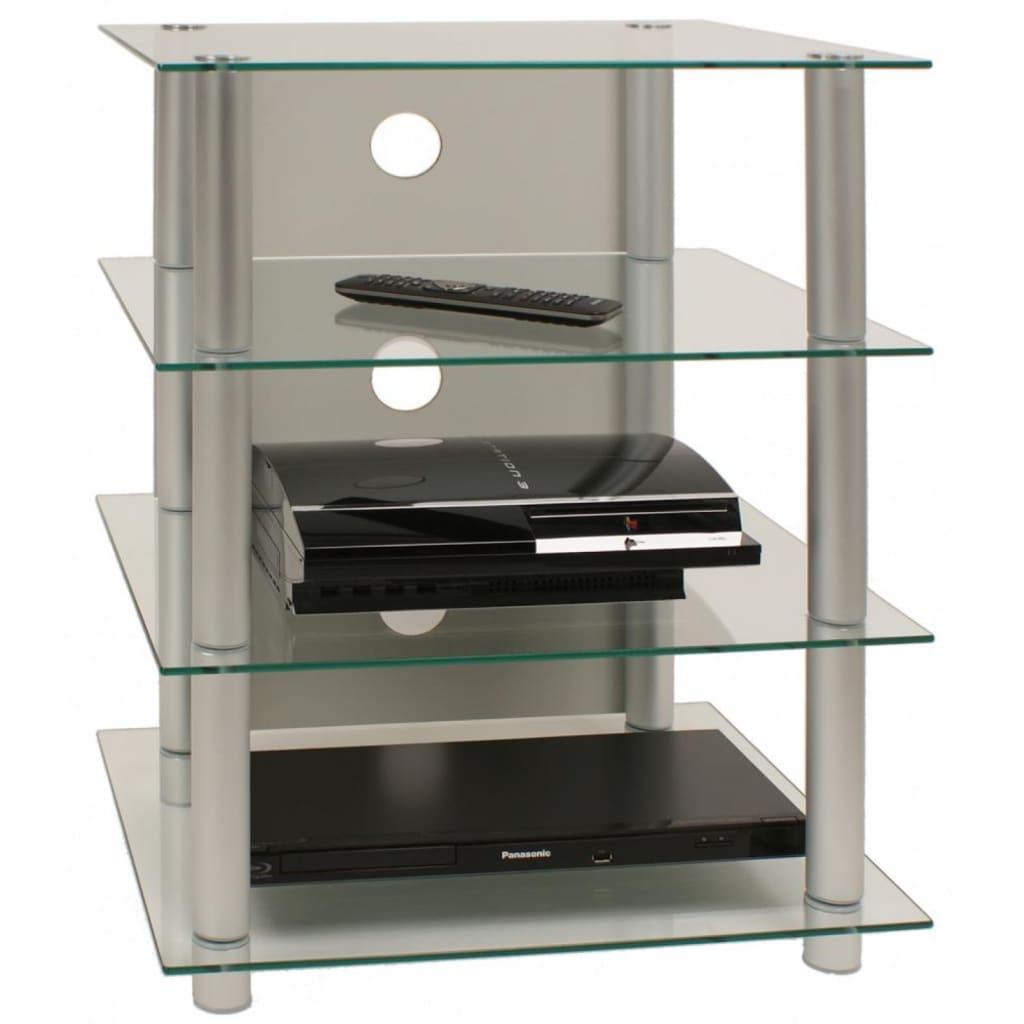 VCM TV meubel - kast Blados van helder glas