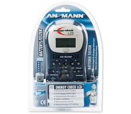 Ansmann Batterietester Energy Check LCD 10x3,4x19,5 cm 4000392[2/2]