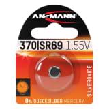 Ansmann Pile bouton Argent D371