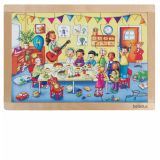 Beleduc Birthday Party Frame Puzzle 12003
