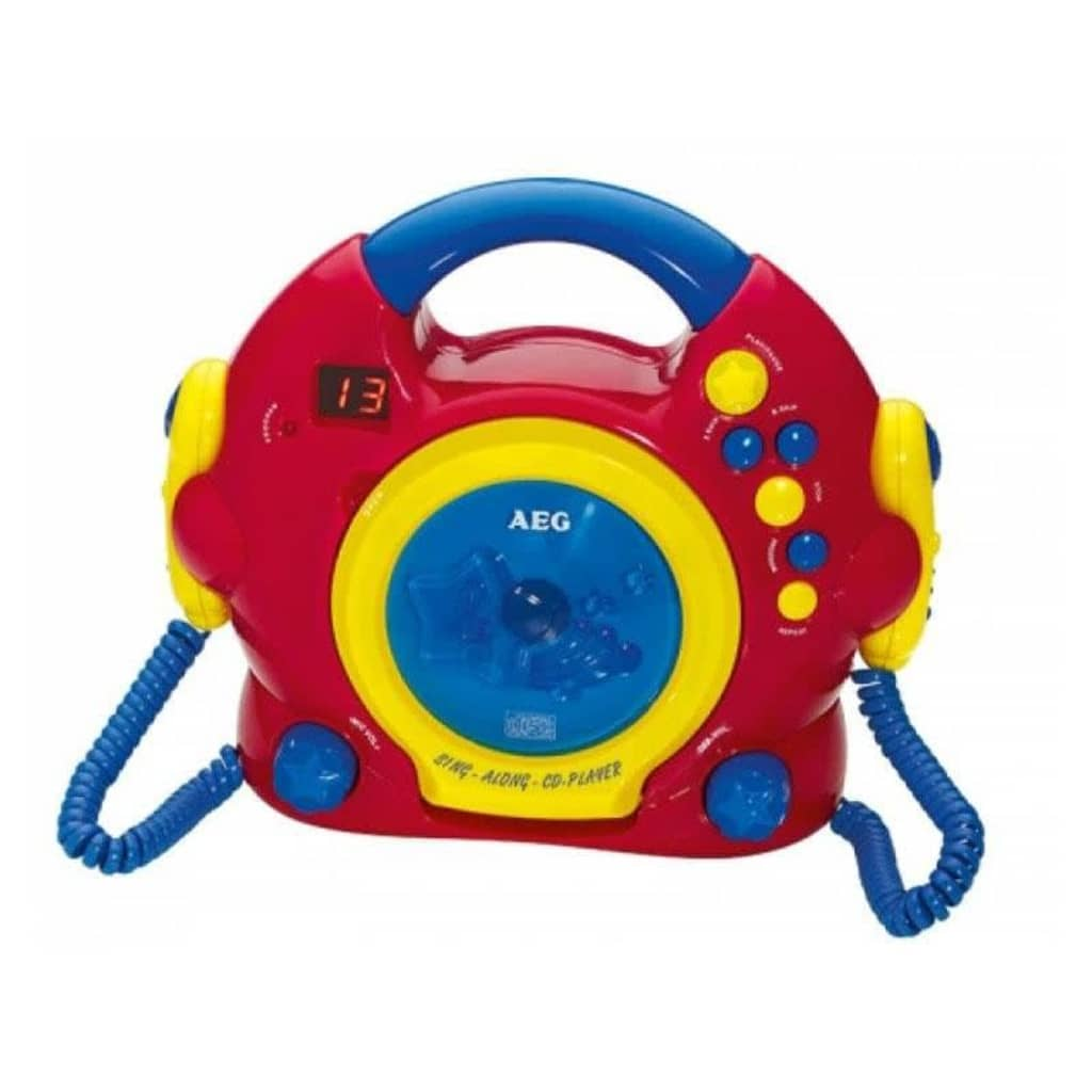 Image of AEG Sing Along Lettore CD CDK 4229 Rosso