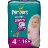 Pampers Baby Luiers - Active Girl Pants Maxi 4 16 Stuks