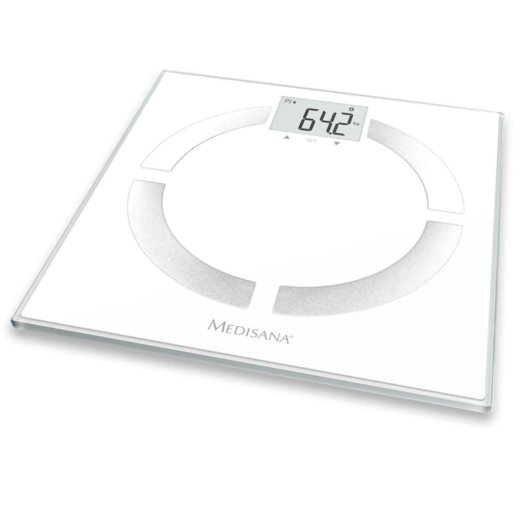 Medisana Lichaamsanalyse weegschaal BS 444 wit 180 kg 40444