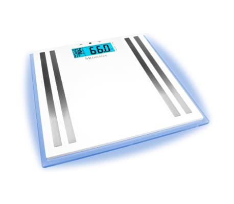 Medisana Stiklinės Svarstyklės ISA LCD su Kūno Analizės Funkcijomis