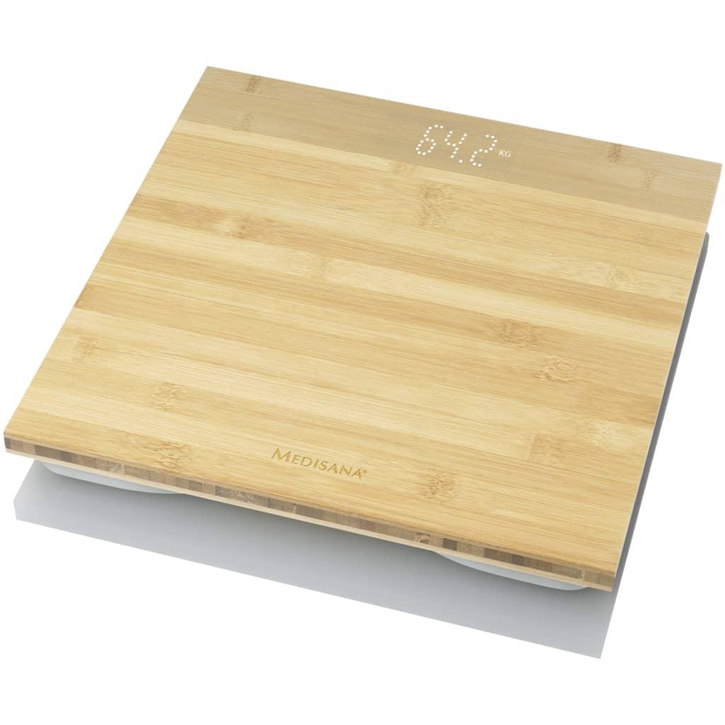 Medisana Personenweegschaal PS 440 bamboe bruin