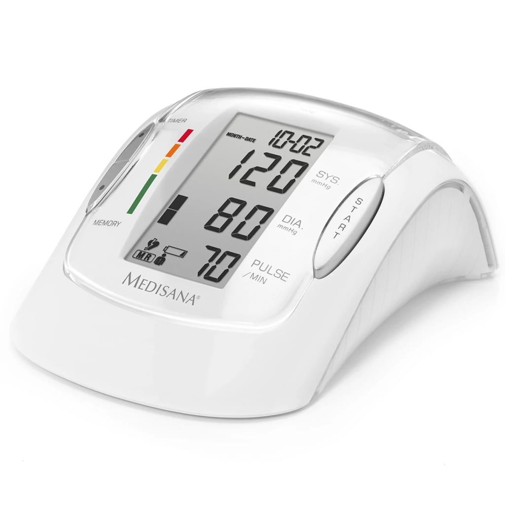 Afbeelding van Medisana Bovenarm bloeddrukmeter MTP Pro wit 51090