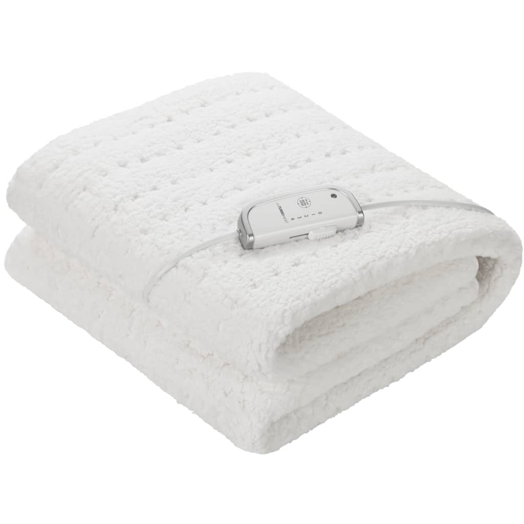 Medisana Fleece Wärmeunterbett (Maxi) HU 672 0,8×1,5 m Weiß