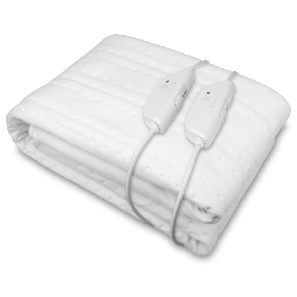 Medisana Pătură cu încălzire Maxi HU 676, alb, 1,6 x 1,5 m