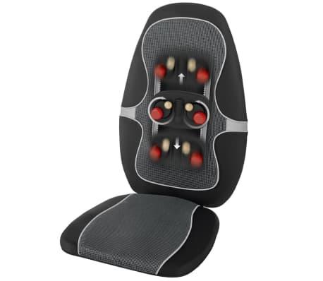 medisana shiatsu massage sitzauflage mc 815 schwarz und grau 88916 g nstig kaufen. Black Bedroom Furniture Sets. Home Design Ideas