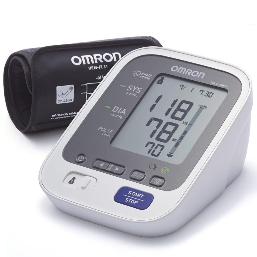 Omron Oberarm-Blutdruckmessgerät OMR-M6Comf(HEM7321E)
