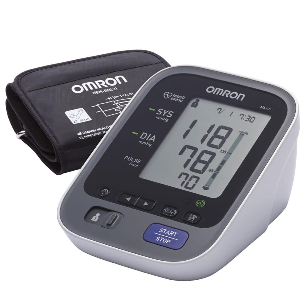 Omron Monitor tensiune arterială braț, OMR-M6-AC(HEM7322E) imagine vidaxl.ro