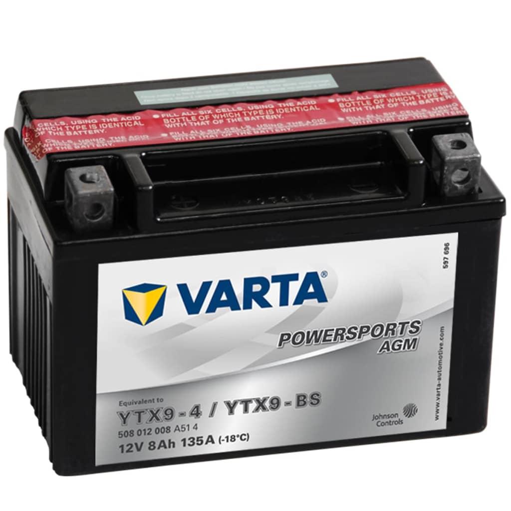 Varta Μπαταρία Μοτοσυκλέτας Powersports AGM YTX9-4 / YTX9-BS