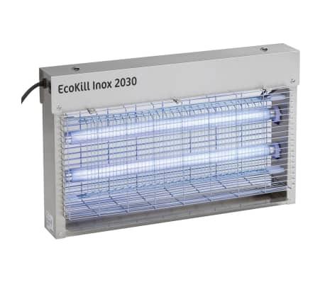 Kerbl matamosquitos eléctrico de acero inoxidable EcoKill Inox 2030 299931