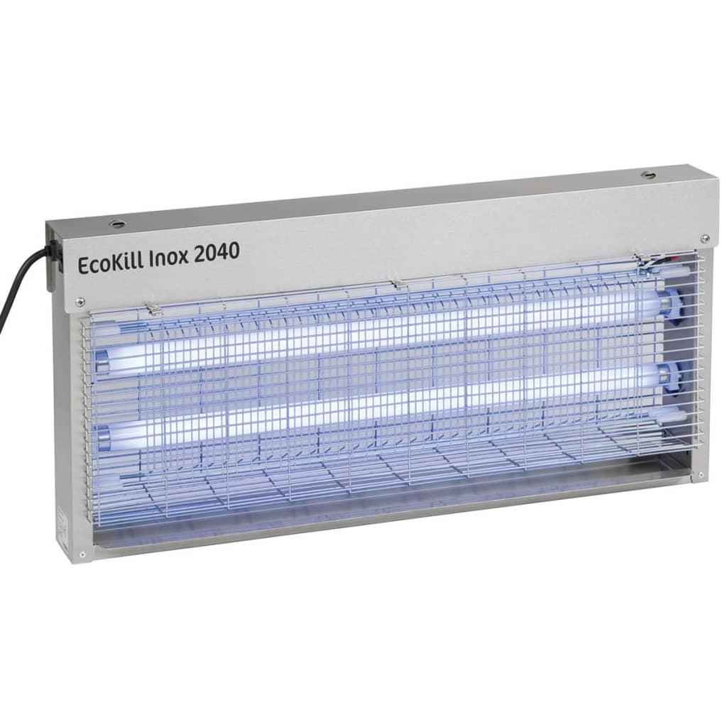 Kerbl Zanzariera Elettrica EcoKill Inox 2040 Argento in Acciaio Inox