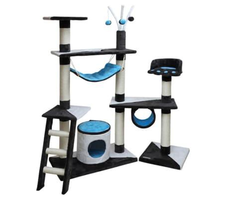 Kerbl Arbre à chats Creativ 150 cm Bleu 81505[1/2]