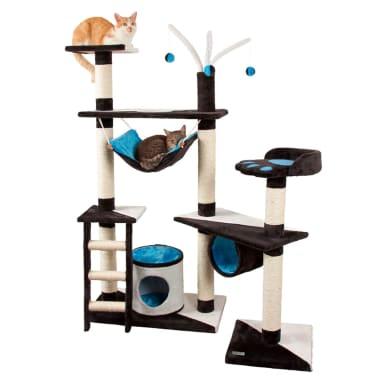 Kerbl Arbre à chats Creativ 150 cm Bleu 81505[2/2]
