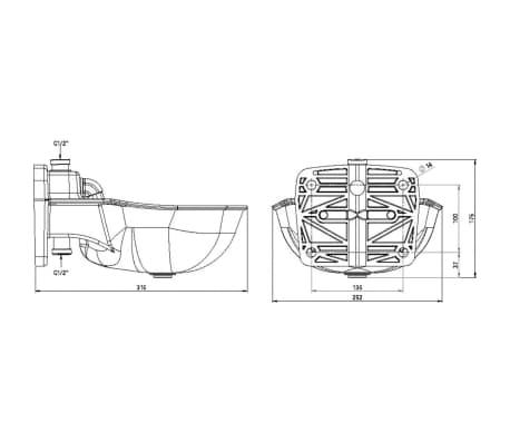 Kerbl Tränkebecken K75 Kunststoff 221875[3/3]