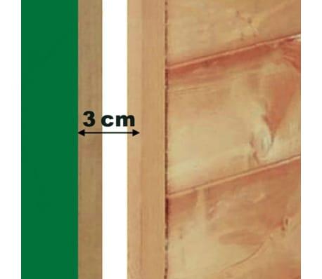 Kerbl Niche pour chiens 4 saisons 100 x 83 x 94 cm Marron 81349[4/4]