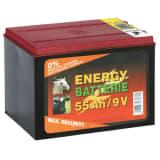 Kerbl Suchy akumulator cynkowo-węglowy, 9 V, 55 Ah, 441212