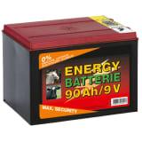 Kerbl Dry Battery Zinc Carbon 9 V 90 Ah 441213