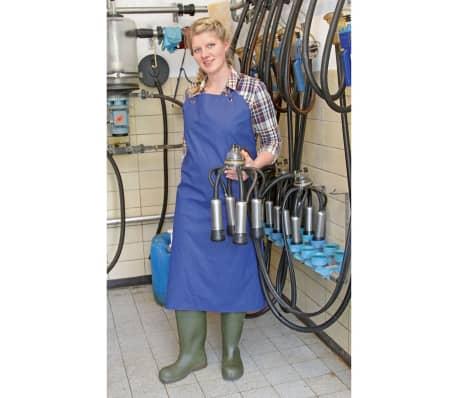 Kerbl Tablier de traite et de lavage PU Bleu 125 x 100 cm 15288[3/4]