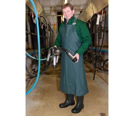 Kerbl Mjölkningsförkläde PVC strl L 125x118 cm 15601[4/4]