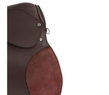 Kerbl saddel til haflinger læder brun 32198[3/6]
