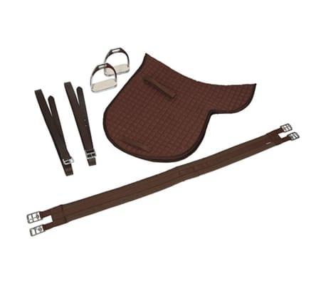 Kerbl saddel til haflinger læder brun 32198[6/6]