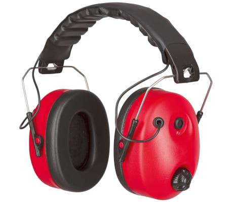 Kerbl Hörselskydd Noise-Cancelling röd och svart 34490[1/4]