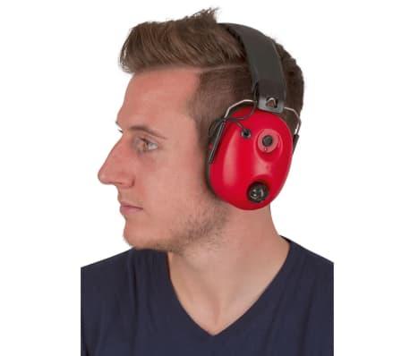 Kerbl Hörselskydd Noise-Cancelling röd och svart 34490[4/4]