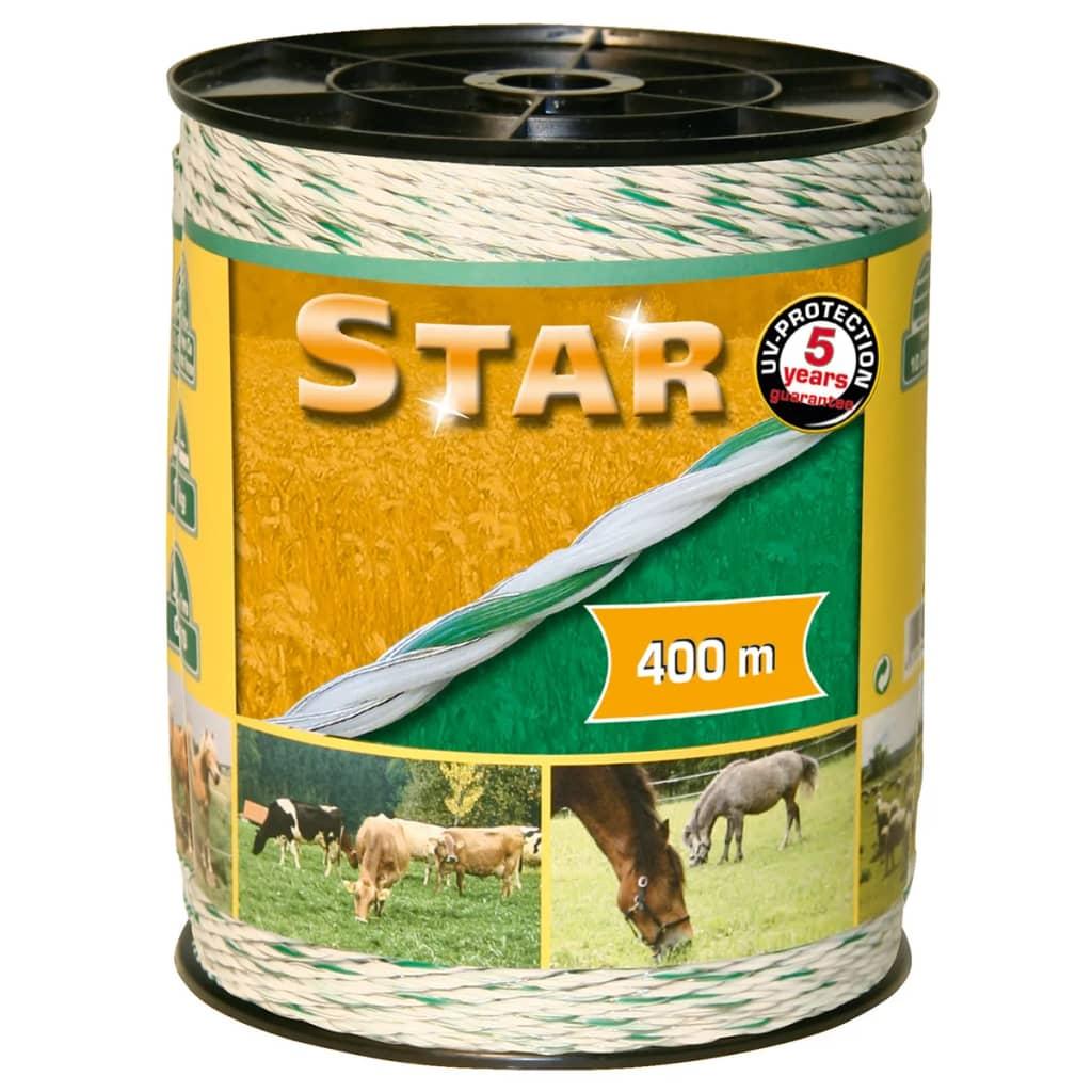 """Afbeelding van Kerbl Schrikdraad \""""Star\"""" 400 m wit en groen"""