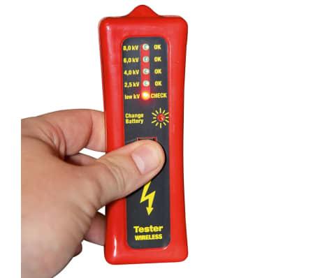 Kerbl Testeur de clôture sans fil 8 000 V Rouge et noir 44669[2/3]