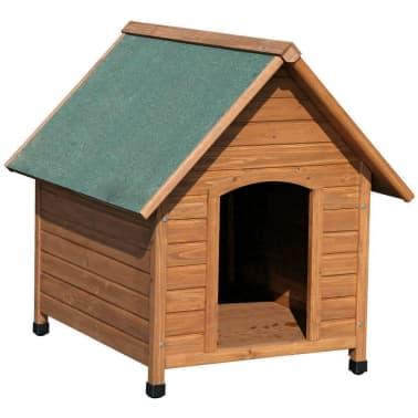 Kerbl Niche pour chiens 100 x 88 x 99 cm Marron et Vert 82395[1/2]