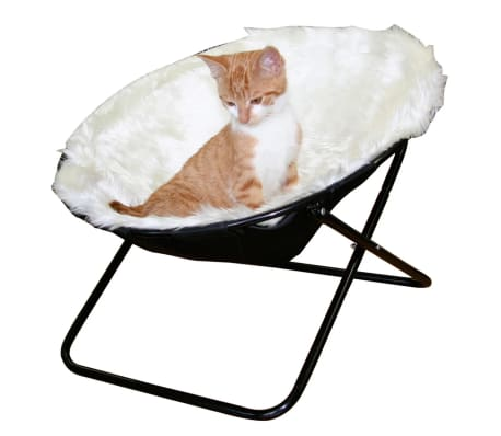 Kerbl Lit pour chats Sharon Blanc 50 cm 82593[1/2]