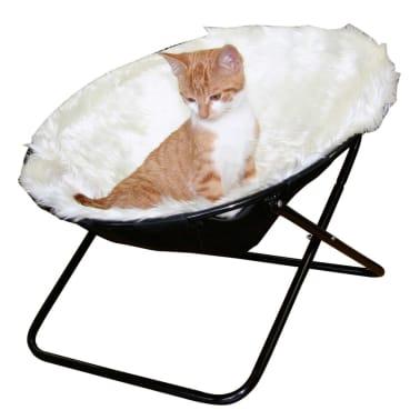 Kerbl Lit pour chats Sharon Blanc 50 cm 82593[2/2]