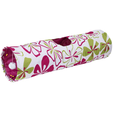 Kerbl Tunnel pour chats Flower 25 x 90 cm 82638[1/2]